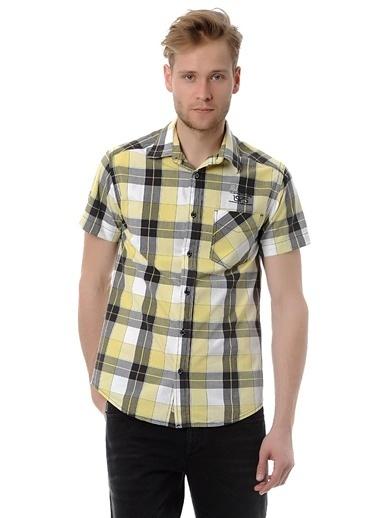 Jack & Jones Gömlek | Kısa Kollu Sarı